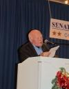 Hermann Hertling beim Vortrag